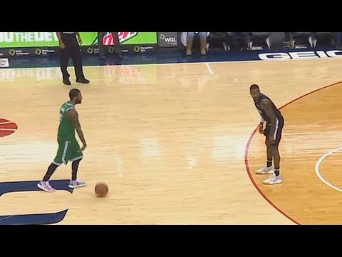 Kyrie Irving Shocks John Wall & Wizards Crowd After Taking Over! Celtics vs Wizards