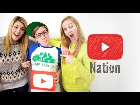 TAKEOVER: Grace Helbig, Hannah Hart, Mamrie Hart!   YouTube Nation   Monday