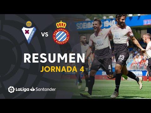 Resumen de SD Eibar vs RCD Espanyol (1-2)