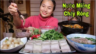 Canh Cua Đồng,Thịt Ba Chỉ, Cà Pháo Mắm Tôm & Nồi Cá Hú Kho Tộ Nóng Hổi Ngon Hết Chổ Chê #473