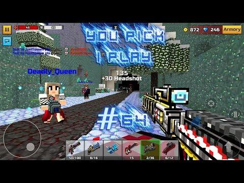 You Pick,I Play! #64 - Clan Siege Battle (Browar z Biedry) Pixel Gun 3D