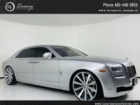 Pre-Owned 2012 Rolls-Royce Ghost EWB Sedan w/ Theatre