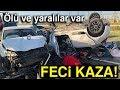 Çorlu'da Trafik Kazası: 1 Ölü, 4 Yaralı