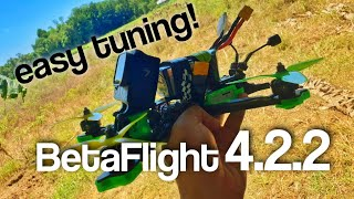Easy FPV Tuning | BetaFlight 4.2.2 | Titan Xl5 HD