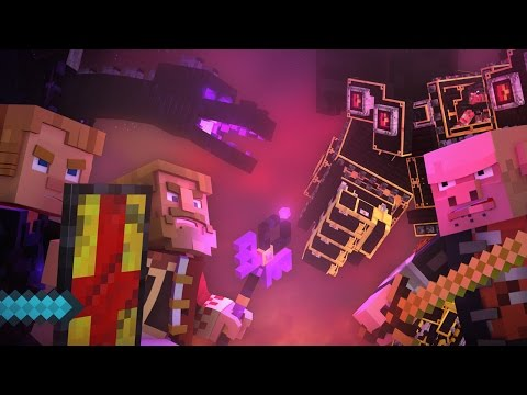 """Dragonhearted"" - A Minecraft Original Music Video"