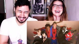 SPIDER-MAN: INTO THE SPIDER-VERSE | Trailer #2 | Reaction!