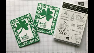 St. Patrick's Day - Good Luck Card