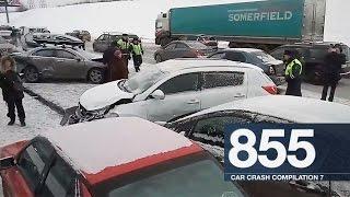 Car Crash Compilation 855 - January 2017