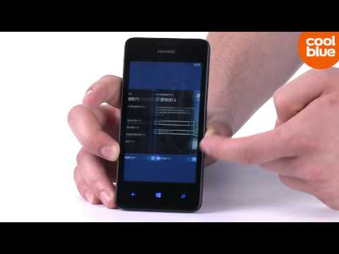 Huawei Ascend W2 Smartphone productvideo (NL/BE)