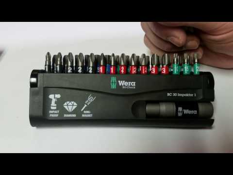 Wera Impaktor Bit-Check Set of 30 Review