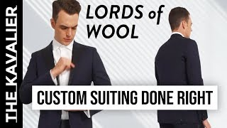 First Look: Lords of Wool Review & Unboxing - Best MTM So Far?