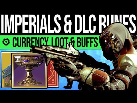 Destiny 2 | RUNES REVEALED & DLC CURRENCY! E3 Reveal, Chalice Preview, Nessus Barge & Weapon BUFFS!