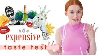 Oops, We Gave 'Riverdale's Madelaine Petsch Trust Issues 💎   Expensive Taste Test   Cosmopolitan