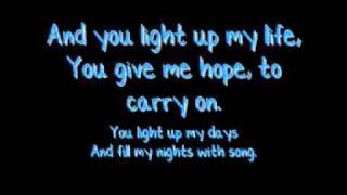 JLS - You Light Up My Life with Lyrics