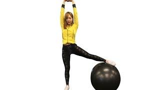 19회 짐볼을 이용한 유사라의 다이어트 운동법 BEST!
