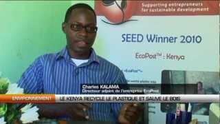 Le Kenya recycle le plastique et sauve le bois. (#024)