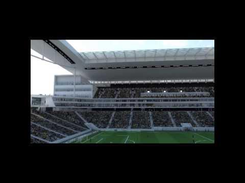 Nova Maquete 3D da Arena Corinthians