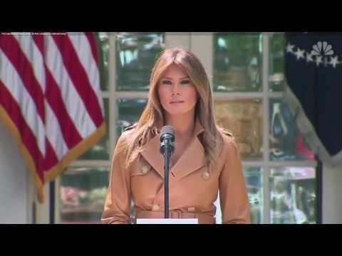 Liberal Media Has Predictable Reaction to Melania Trump's Be Best Campaign