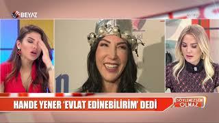Hande Yener'den ''Evlat Edinebilirim'' Açıklaması