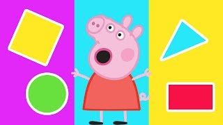 Peppa Pig - Learn Shapes For Kids - Learn Shapes With Peppa Pig - Learning With Peppa Pig