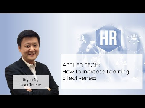 How To Increase Learning Effectiveness