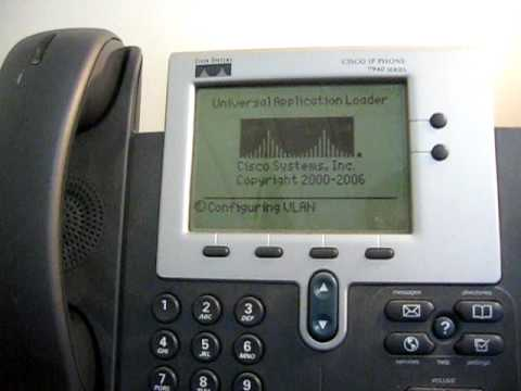 resolve hax: How to set your Cisco 7940 and 7941 IP phone up