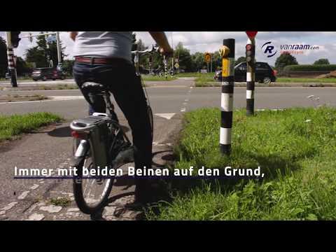 Balance E-bike mit tiefem Einstieg