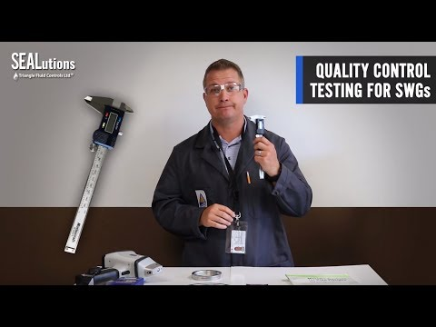 SEALutions - Quality Control Testing for SWG's