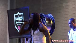 "Ace Hood performing ""Hustle Hard"" live at the ATL Dub Car Show 2k11"