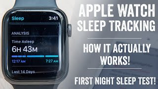 Apple Watch Sleep Tracking: How it actually works // Setup, Tested, Details, Comparisons