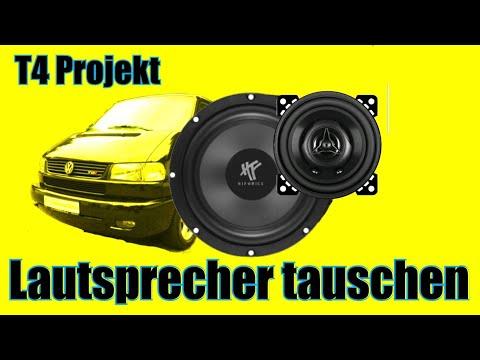 Lautsprecher tauschen T4 Projekt