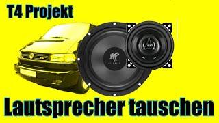 Lautsprecher tauschen T4-Projekt