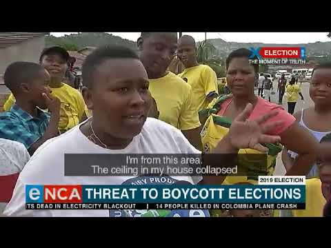 Threat to boycott elections