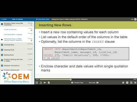 Oracle Database 12c SQL Fundamentals exam 1Z0 061 ... - YouTube