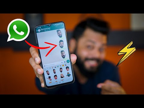 Create Your OWN CUSTOMIZED FACE STICKERS on WhatsApp 👨‍👩‍👩 WhatsApp Tips & Tricks