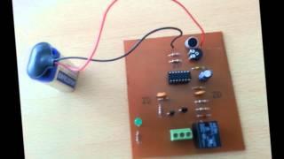 omü elektrik elektronik mühendisliği el çırpmalı anahtar devresi