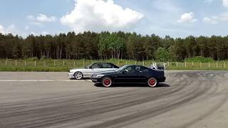 Honda Prelude H22 Black top VS BMW 3.0 строкер +дросселя