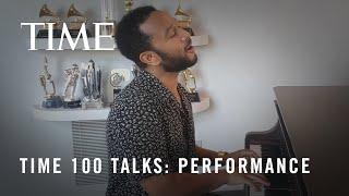 """TIME100 Talks: John Legend Performs """"Lean On Me"""" I TIME"""