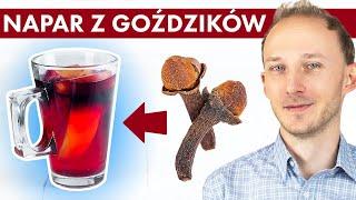 Zacznij pić napar z goździków i zobacz, co zyskasz! Jak stosować goździki? | Dr Bartek Kulczyński