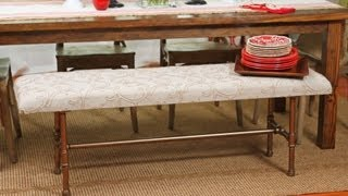 How to Make a Pipe Bench