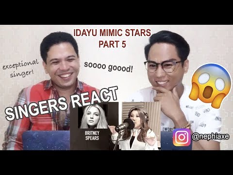 VIRAL IDAYU MIMIC STARS - Part 5 | SINGERS REACT