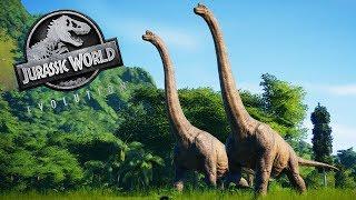 Bleibt`s in der Hose zu lang kalt, spiel mit Kreis im Dinowald  [Jurassic World Evolution]