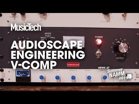 Audioscape Engineering V-Comp recreates a classic vocal compressor #SummerNAMM2019