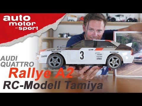 So genial wie das Original? Tamiya Audi Quattro A2 - Bloch spielt #2 | auto motor und sport