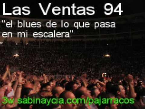 Joaquin Sabina El blues de lo que pasa en mi escalera de Las Ventas 94