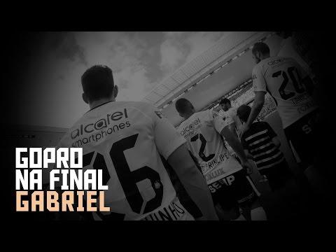 Confira como Gabriel acompanhou a final do Campeonato Paulista