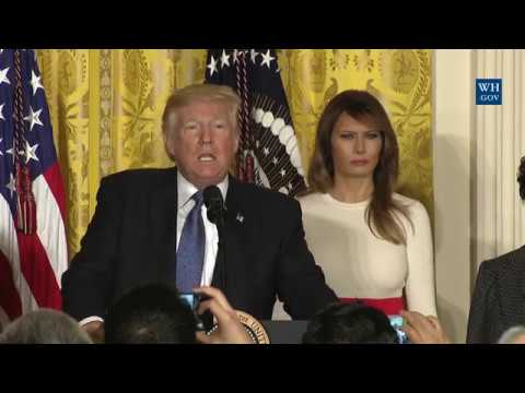 President Trump Hosts a Hispanic Heritage Month Event