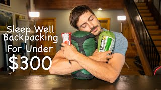 SLEEP Well BACKPACKING For Under $300