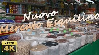 preview picture of video 'from Nuovo Mercato Esquilino to Colosseum, Rome - Italy 4K Travel Channel'
