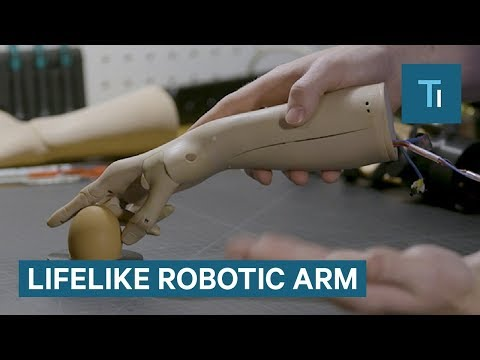 This Lifelike Robotic Arm Gets Smarter Over Time